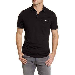 Ted Baker London Polo Shirt 6 Tortila Slim Fit